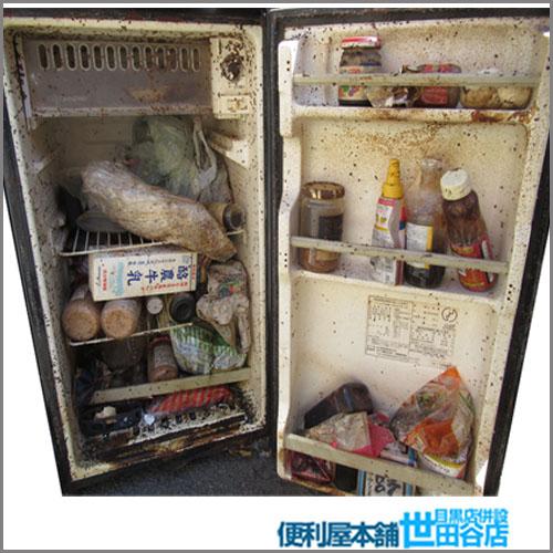 中身が腐った冷蔵庫の処分・冷蔵庫中身まるごと回収
