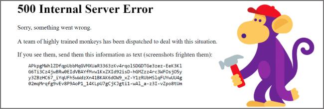 YouTubeサーバーエラー「500 Internal Server Error」メッセージ#YouTubeDOWN
